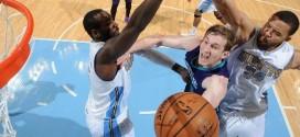 Cody Zeller porte les Hornets à Denver