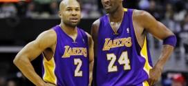 Derek Fisher croit au retour de Kobe Bryant
