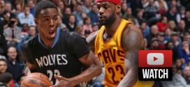 Highlights: le duel LeBron James (36 pts dont 16 dans le 4e quart) – Andrew Wiggins (33 pts)