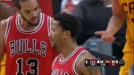 Highlights : les 30 pts et 7 passes de Derrick Rose contre Cleveland