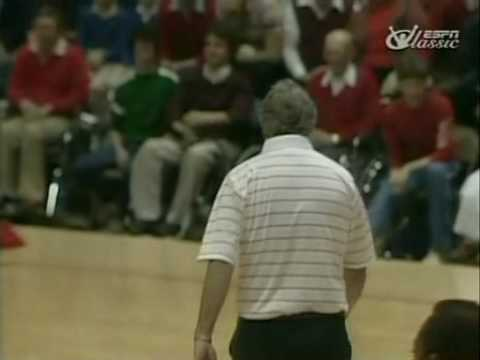 Il y a 30 ans Bobby Knight balançait une chaise sur le terrain
