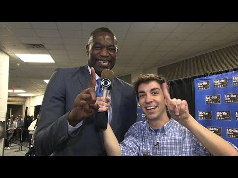 Insolite : le stagiaire de David Letterman au All-Star Game