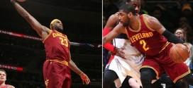 Les highlights du duo LeBron James (28 pts, 6 passes) / Kyrie Irving (25 pts, 7 passes) à Washington