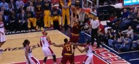 Fail : Kevin Love trop court pour un dunk tout simple à deux mains