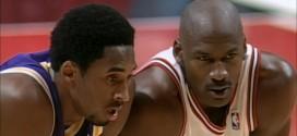 Kobe Bryant:C'est une chose de voirjouer Michael Jordan mais c'est autre chose de jouer contre lui