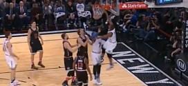 La claquette de Kyle Lowry, son premier dunk depuis 2009 !
