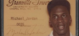 Collector: la carte étudiant de Michael Jordan