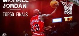 Le top 50 de Michael Jordan en finales NBA