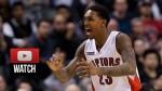 Les highlights de Lou Williams face aux Wizards: 27 points