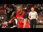 Les highlights d'Eric Gordon face au Heat: 24 points et 6 passes