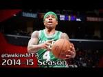 Les highlights des débuts d'Isaiah Thomas avec les Celtics: 21 points en 25 minutes