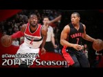 Les highlights du duel John Wall (28 pts, 12 asts) – Kyle Lowry (23 pts)