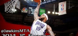 Les highlights du duo DeMarcus Cousins (31 pts, 15 rbds) – Rudy Gay (28 pts)