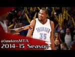 Les highlights du duo Kevin Durant (26 pts, 10 rbds) – Russell Westbrook (24 pts, 9 rbds, 9 asts)