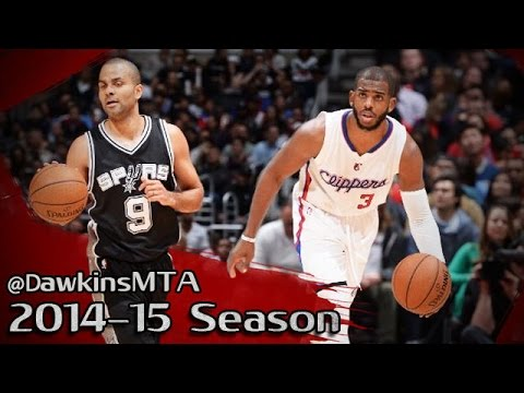 Les highlights du superbe duel Tony Parker (21 pts, 13 asts) – Chris Paul (22 pts, 16 asts)
