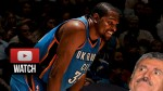 Les highlights du trio Kevin Durant (40 pts), Russell Westbrook (26 pts), Mitch McGary (17 pts)