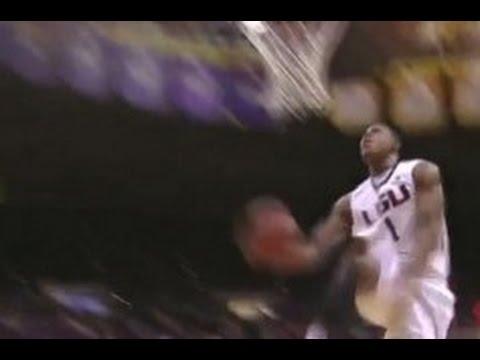 NCAA: Jarell Martin passe un dunk entre les jambes en plein match