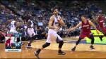 Ricky Rubio régale avec une sublime passe aveugle pour le gros dunk de Bennett