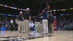 Vidéo : fuite à la Philips Arena d'Atlanta, le match retardé