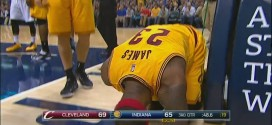 Vidéo : la faute flagrante de Roy Hibbert sur LeBron James