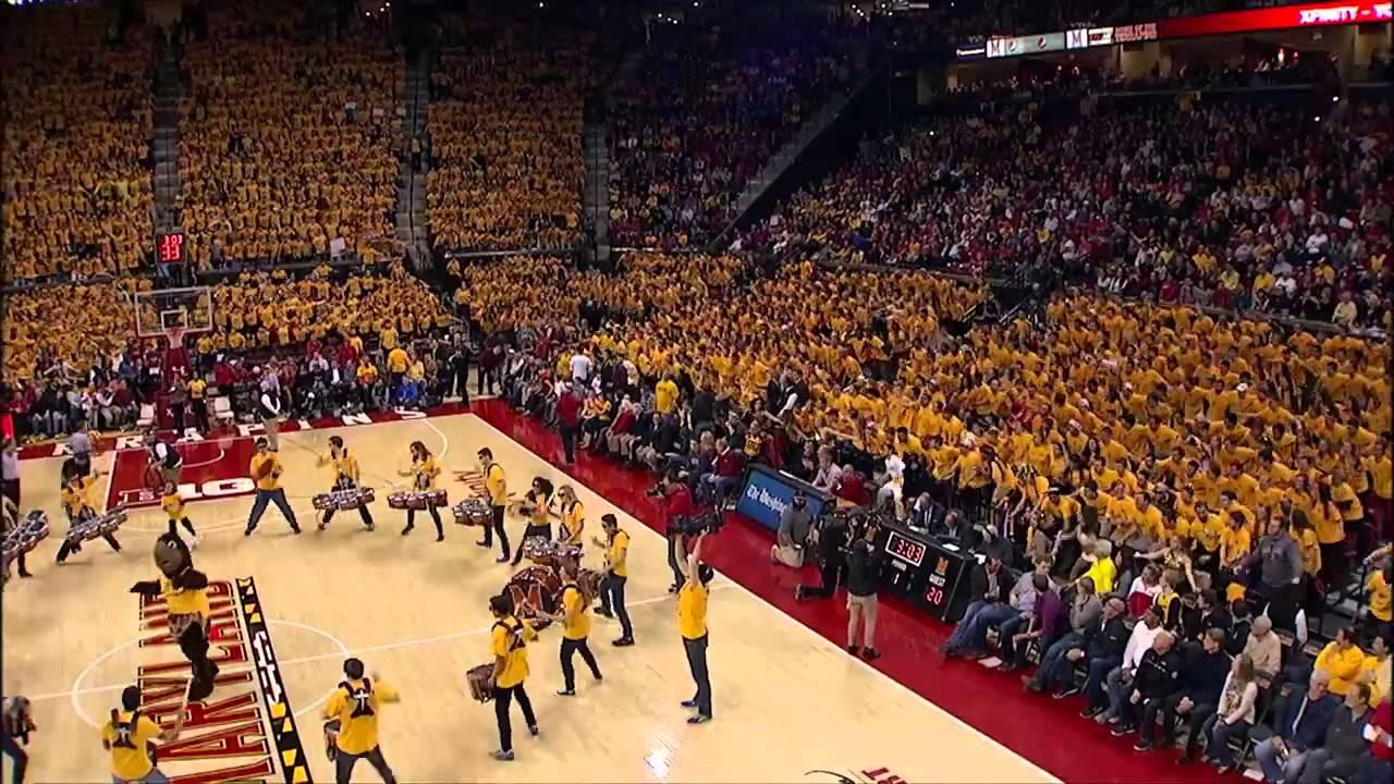 Vidéo: l'impressionnant Flash Mob des fans de Maryland