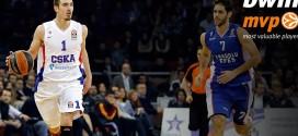Vidéo: Nando De Colo élu MVP du mois en Euroleague