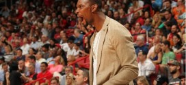 Chris Bosh impatient de retrouver son poste d'ailier fort