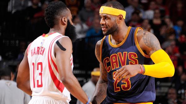 James harden et LeBron James