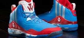 Kicks: adidas dévoile lesJWall 1 'Sky Blue'