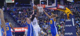 Le double In Your Face de Kenneth Faried sur David Lee