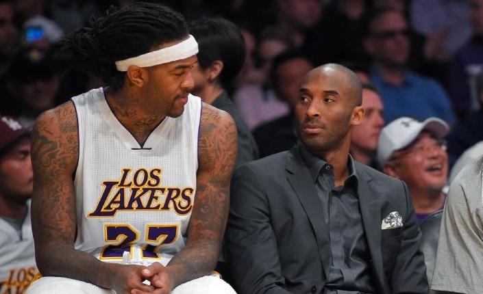 Kobe Bryant et Jordan Hill