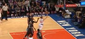 Fail : Lou Amundson lâche un layup airball…