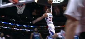 Blake Griffin s'envole sur les Hornets !