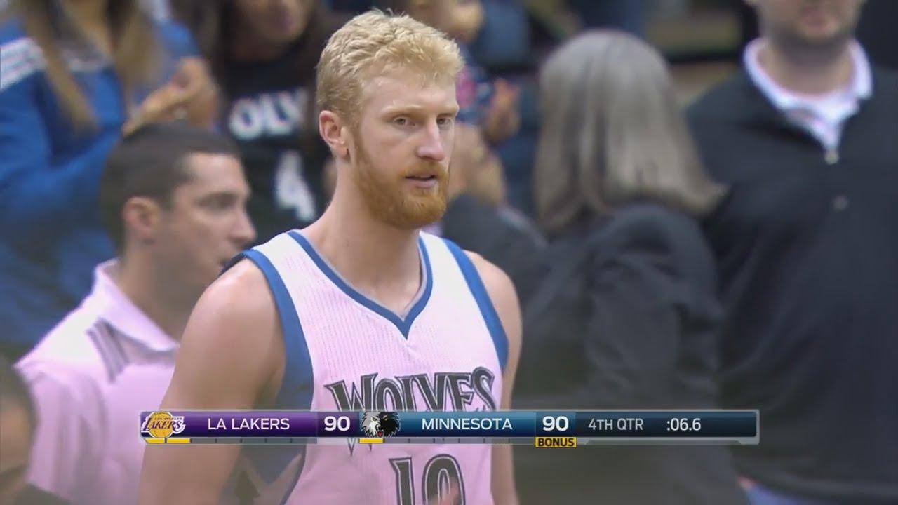 Chase Budinger envoie les Lakers en prolongation à 3-points