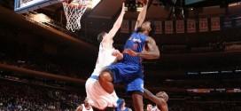 Les deux gros posters de Blake Griffin et DeAndre Jordan face aux Knicks !