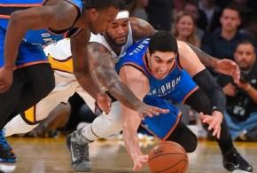 L'effort collectif du Thunder a raison des Lakers