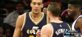 La paire Gobert / Hayward l'emporte à Philadelphie