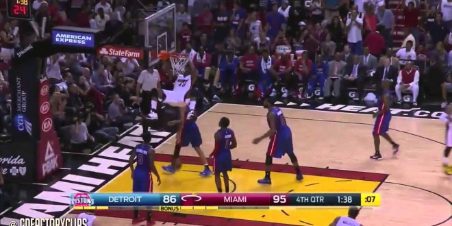 Highlights : les 40 points de Dwyane Wade contre Detroit