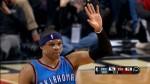 Highlights : les 43 pts 8 rbds et 7 pds de Russell Westbrook contre les Bulls