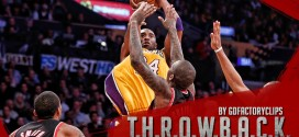 Il y a 8 ans Kobe Bryant plantait 65 points aux Blazers