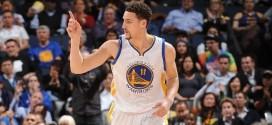 Les highlights de Klay Thompson (26 points) – Stephen Curry (19 points et 9 passes)