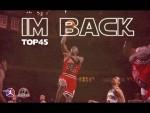 Le Top 45 de Michael Jordan avec le numéro 45 pour l'anniversaire de son comeback