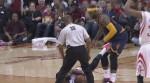 LeBron James sur le coup de pied de James Harden: ce n'est pas du basket