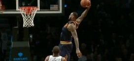 Chase down block et alley oop en haute altitude pour LeBron James !