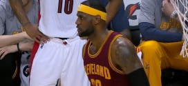 Les highlights de LeBron James face aux Raptors: 29 points et 14 passes