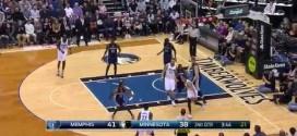 Les highlights d'Andrew Wiggins face aux Grizzlies: 25 points