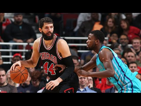 Les highlights de Nikola Mirotic face aux Hornets: 28 points et 8 rebonds