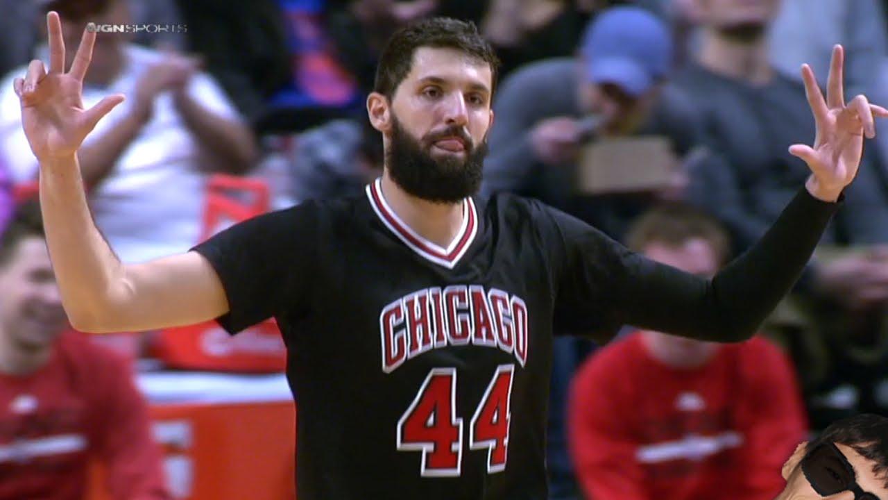 Les highlights de Nikola Mirotic face aux Knicks: 24 points en 26 minutes