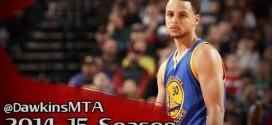 Les highlights de Steph Curry face aux Blazers: 33 points et 10 passes
