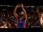 Les highlights du record en carrière d'Andre Drummond: 32 points à 14/17